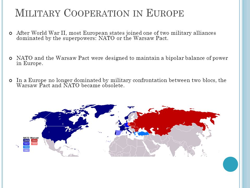 Military Cooperation in Europe