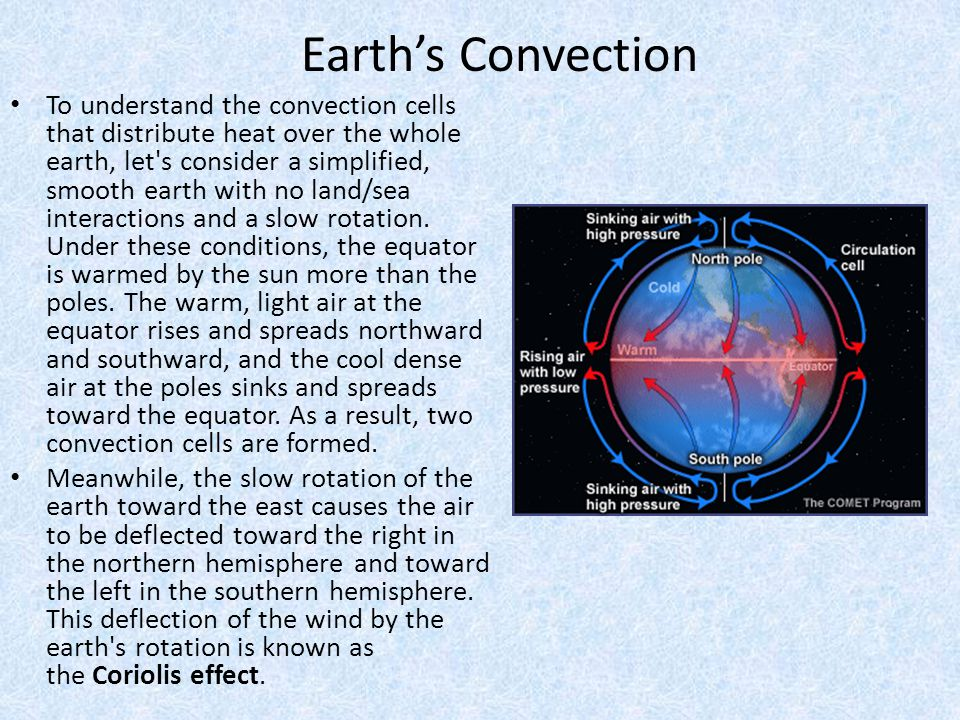 Earth's Convection