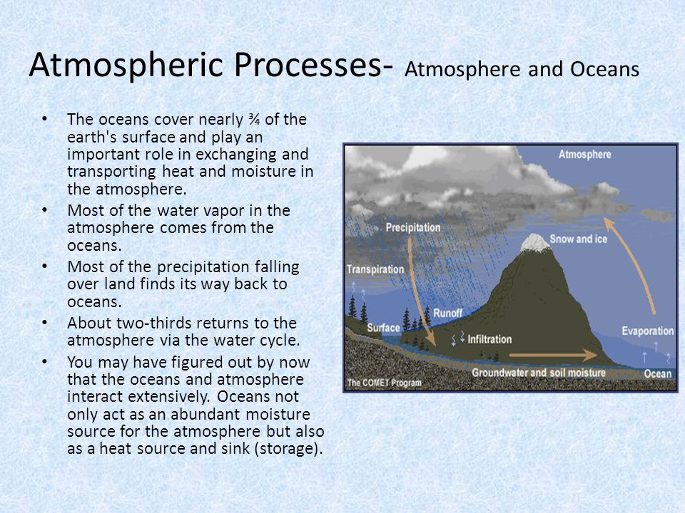 Atmospheric Processes- Atmosphere and Oceans