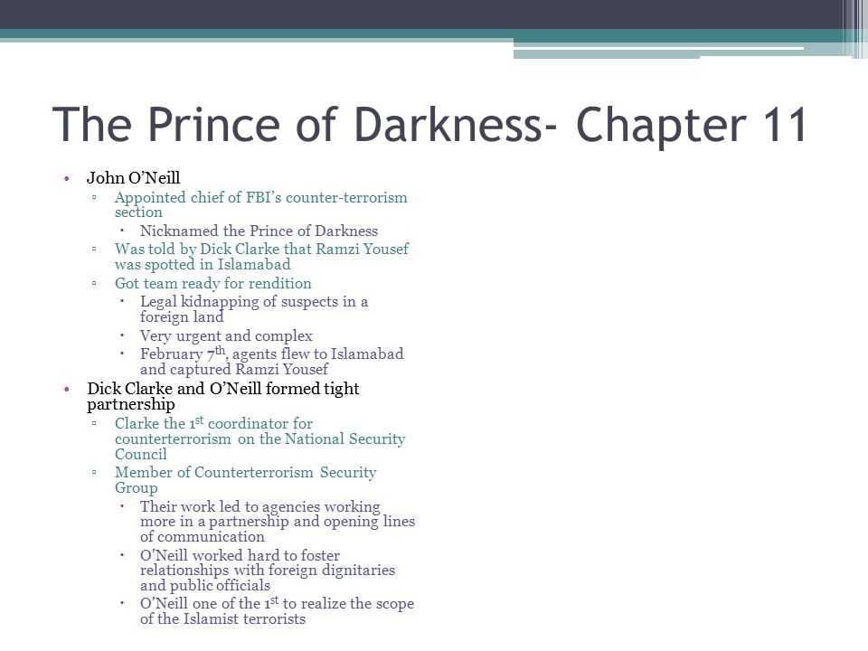 The Prince of Darkness- Chapter 11