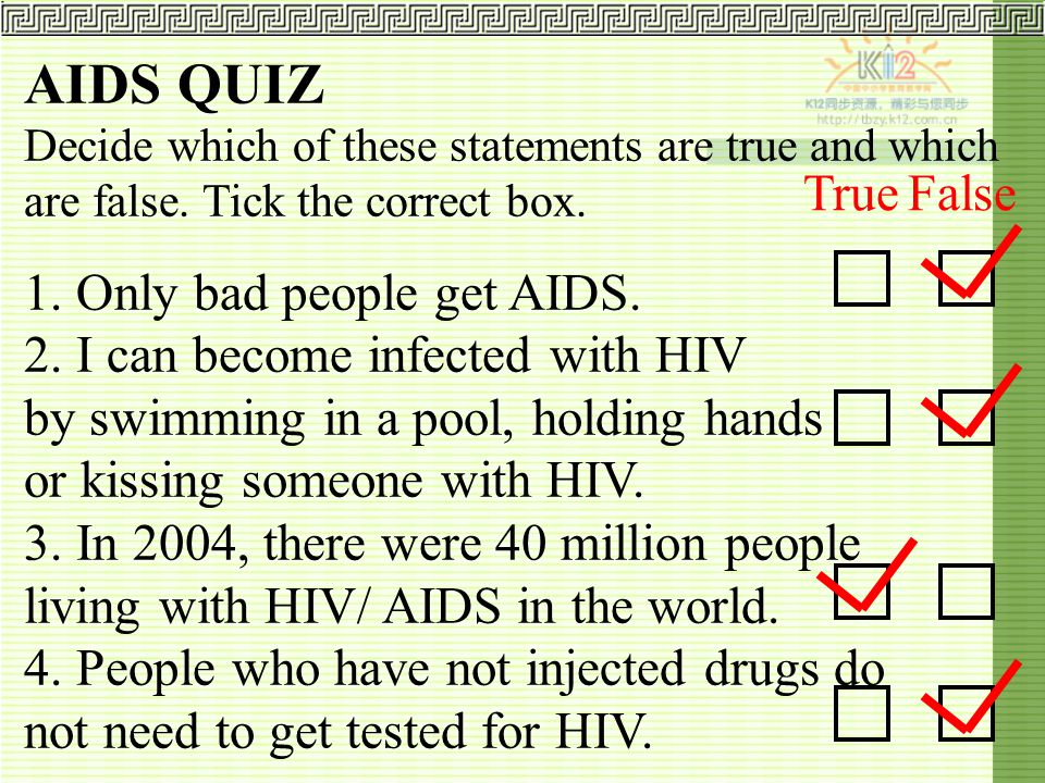 Hiv Aids Are You At Risk Ppt Video Online Download