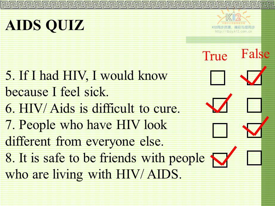 AIDS QUIZ