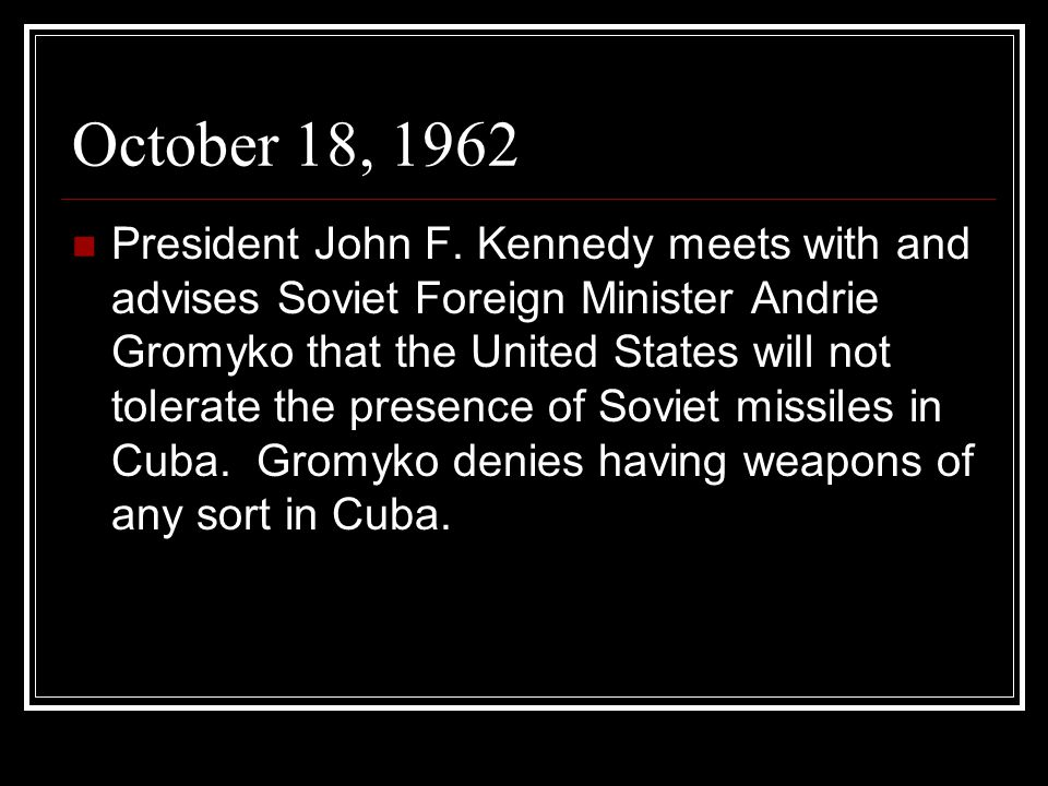 October 18, 1962
