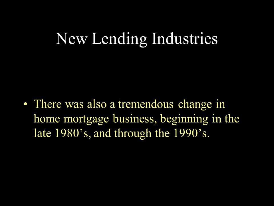 New Lending Industries
