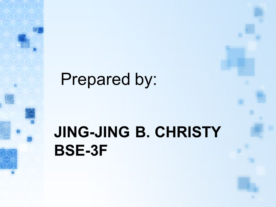 Jing-jing b. christy bse-3f