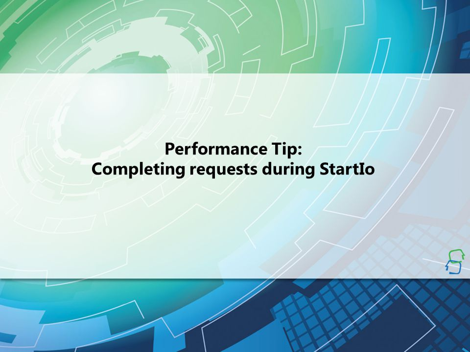 Completing requests during StartIo