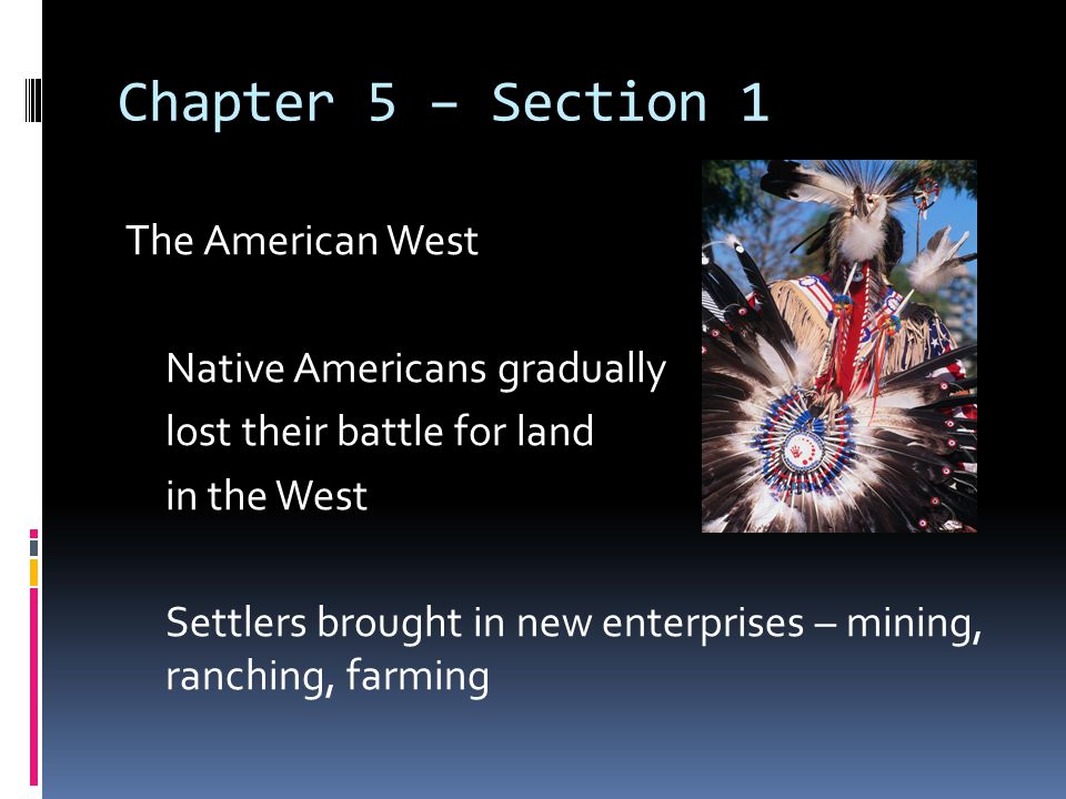 Chapter 5 – Section 1