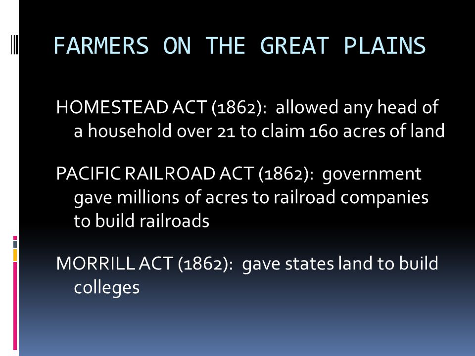 FARMERS ON THE GREAT PLAINS