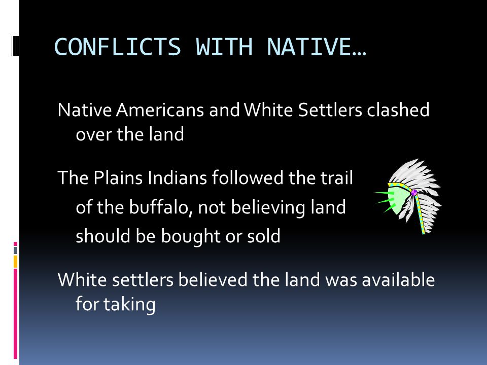 CONFLICTS WITH NATIVE…