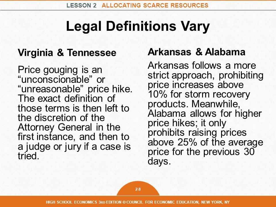 Legal Definitions Vary
