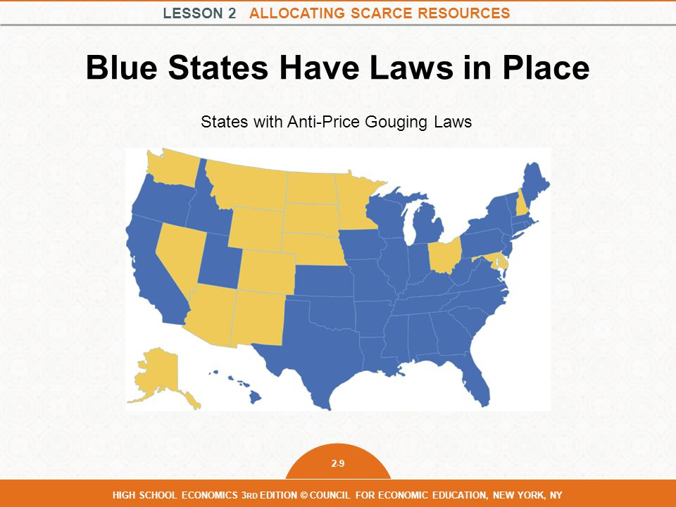 Blue States Have Laws in Place