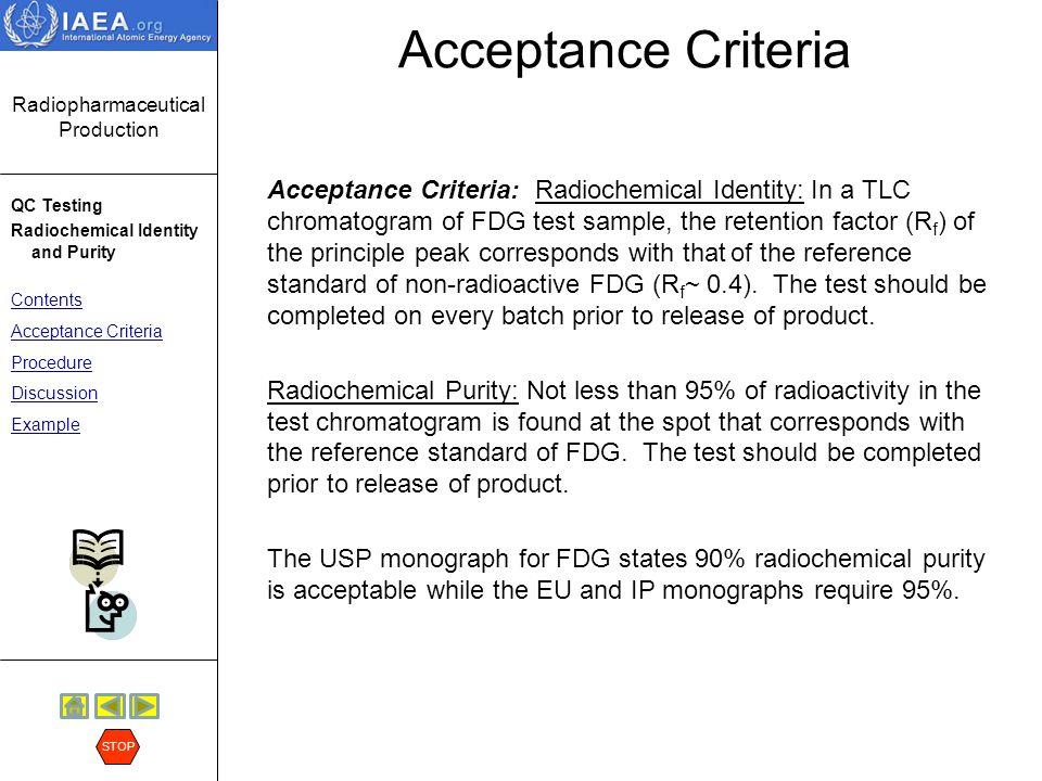 Acceptance Criteria