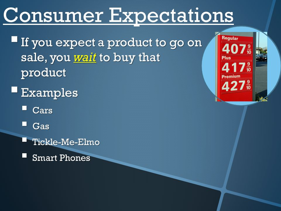 Consumer Expectations