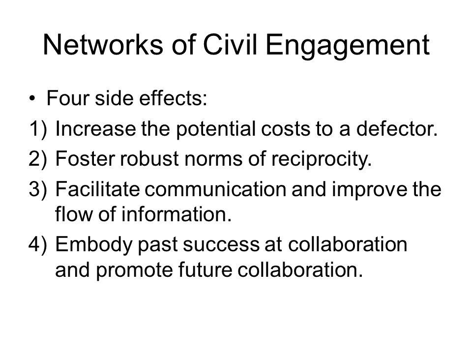 Networks of Civil Engagement