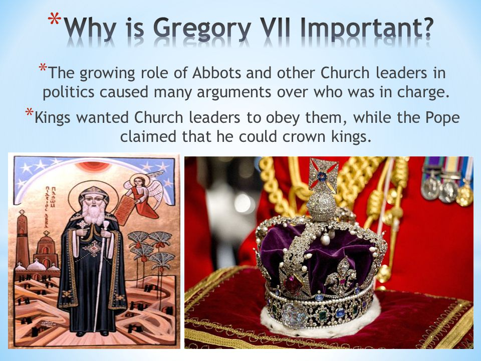 Why is Gregory VII Important