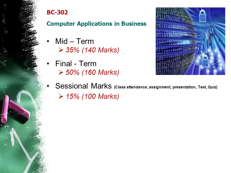 BC-302 Computer Applications in Business