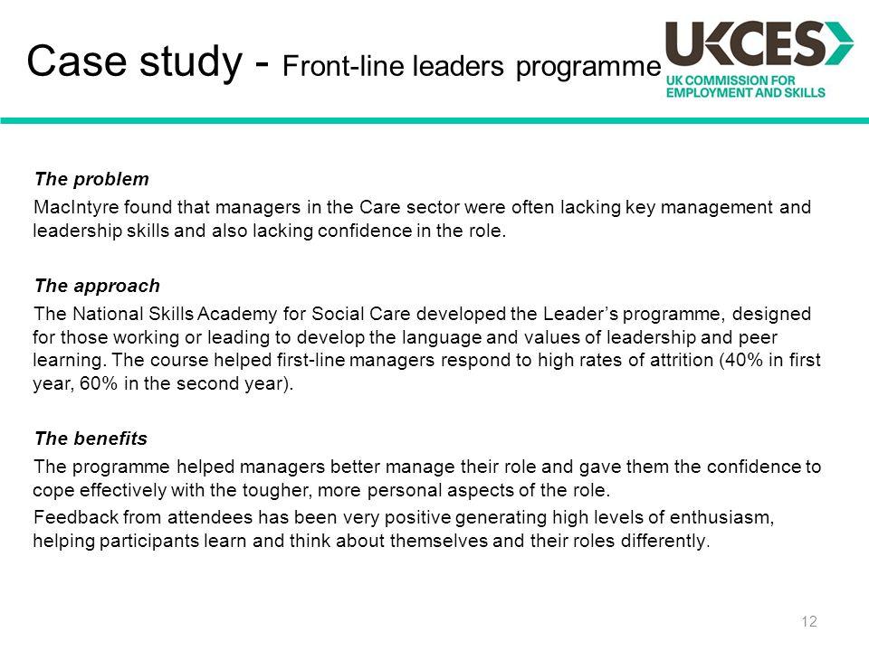 case study on leadership skills Development of student leadership skills and identity : a case study at a finnish university dspace/manakin repository.