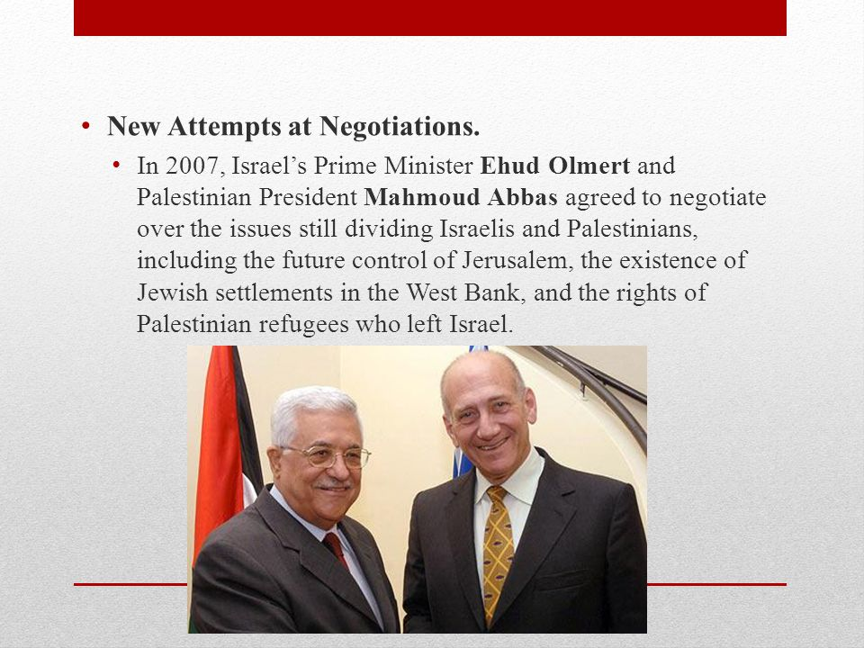 New Attempts at Negotiations.