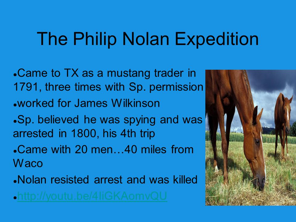 The Philip Nolan Expedition