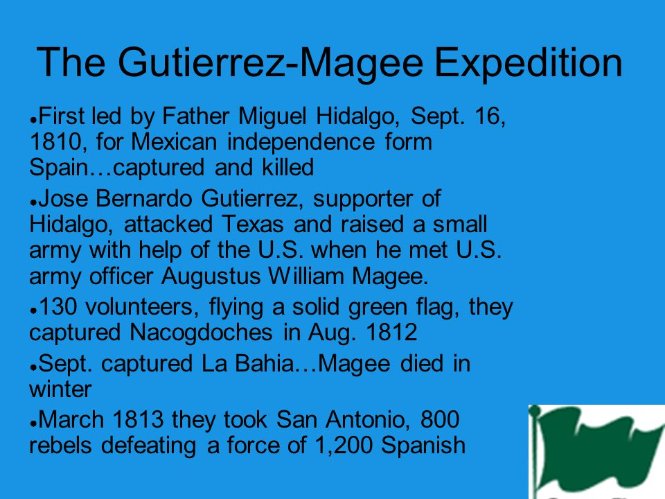 The Gutierrez-Magee Expedition