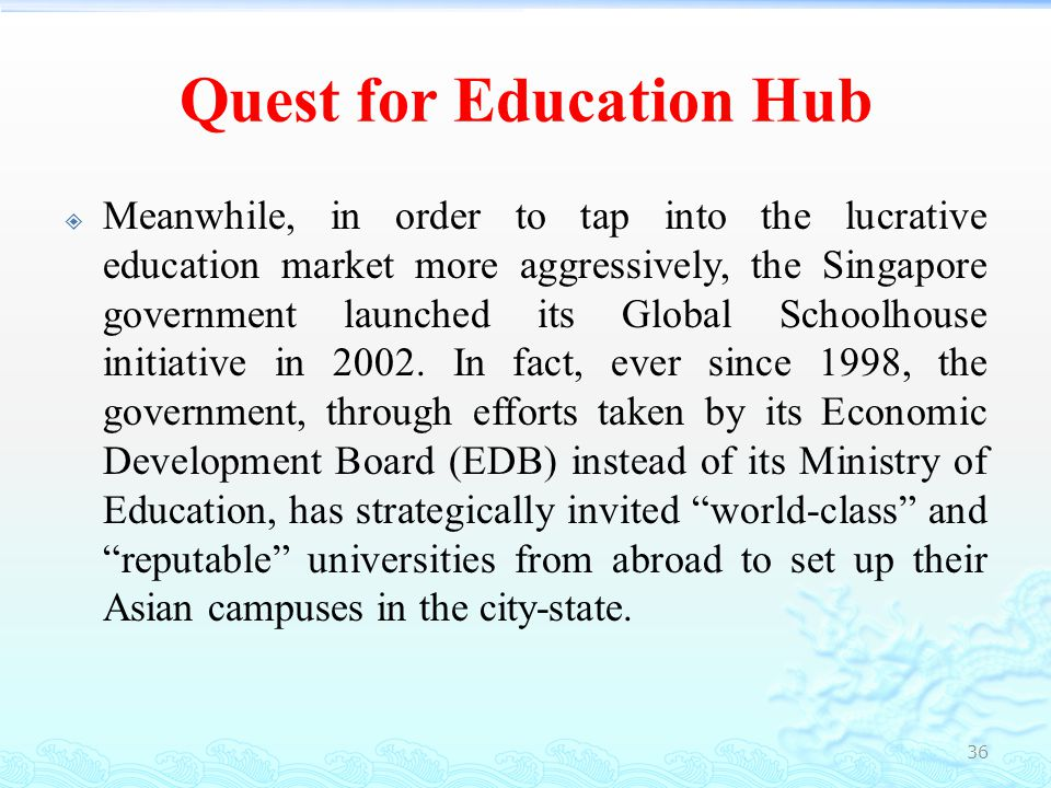 Quest for Education Hub