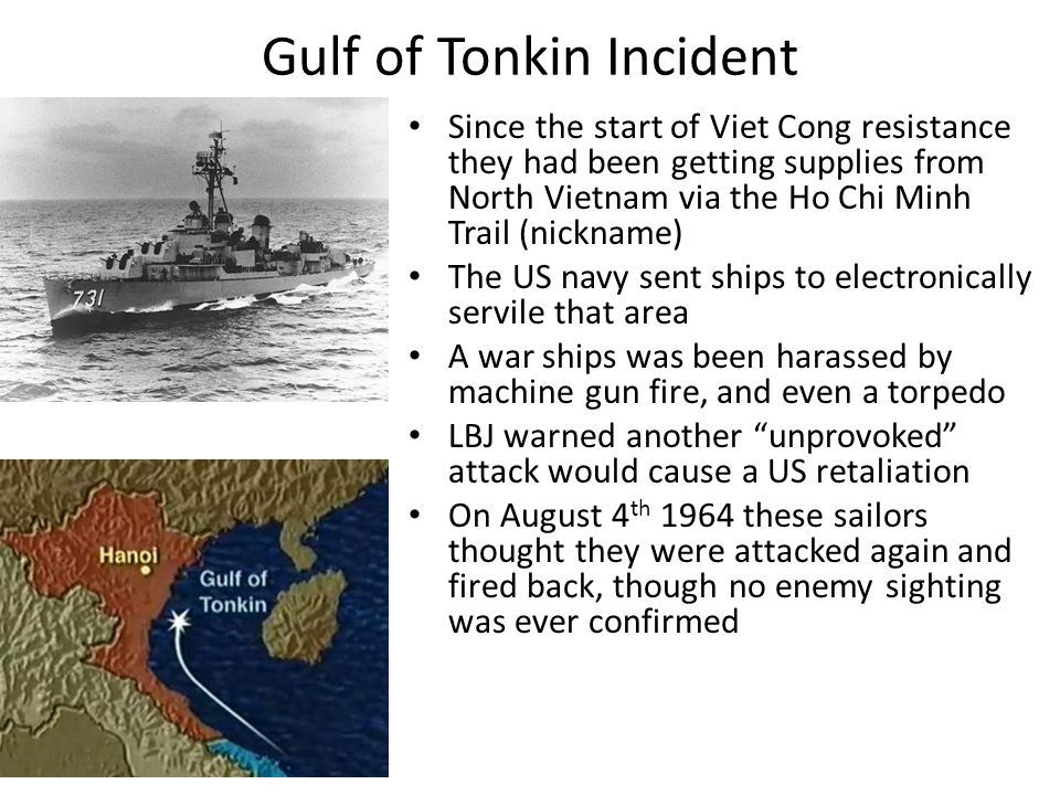 Gulf of Tonkin Incident