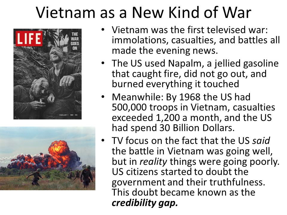 Vietnam as a New Kind of War