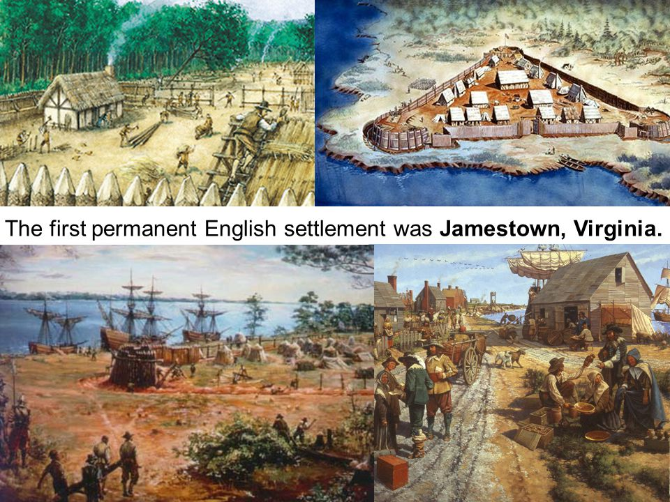 The first permanent English settlement was Jamestown, Virginia.