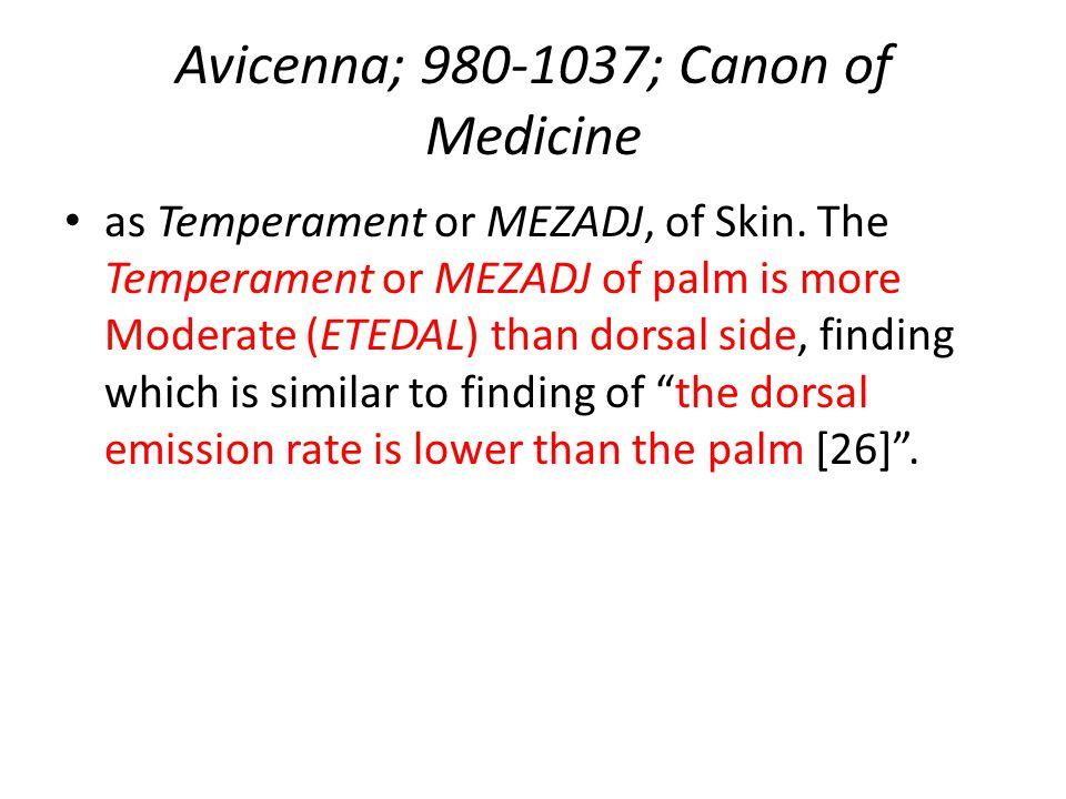 Avicenna; 980-1037; Canon of Medicine