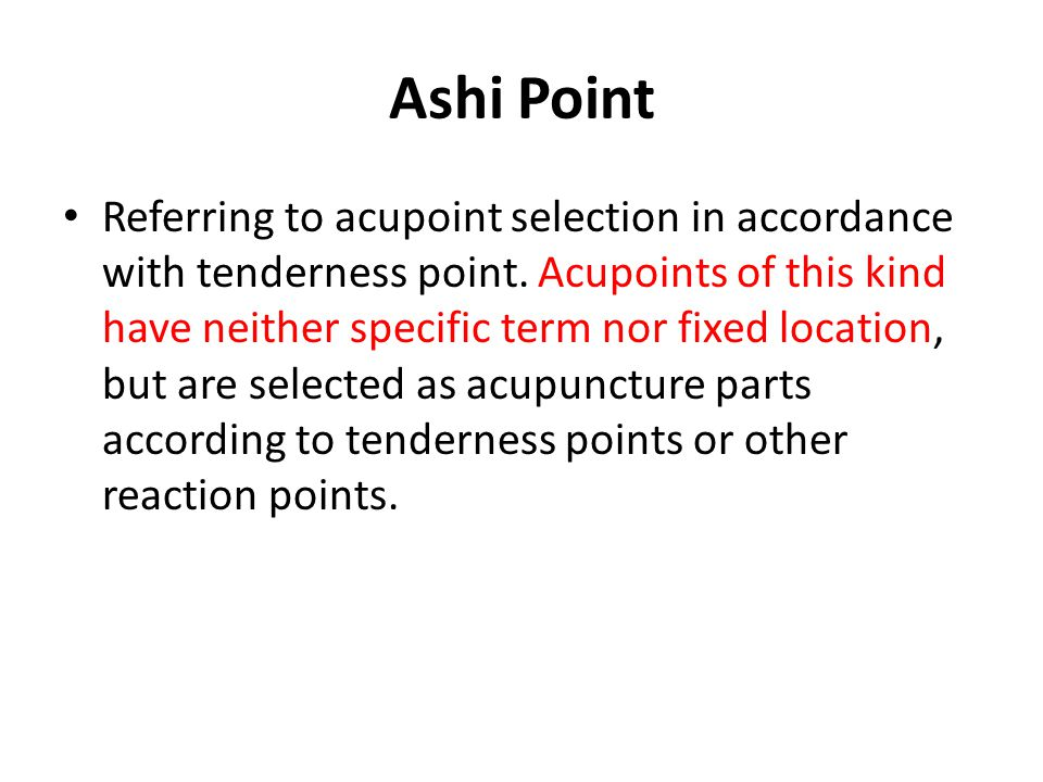 Ashi Point