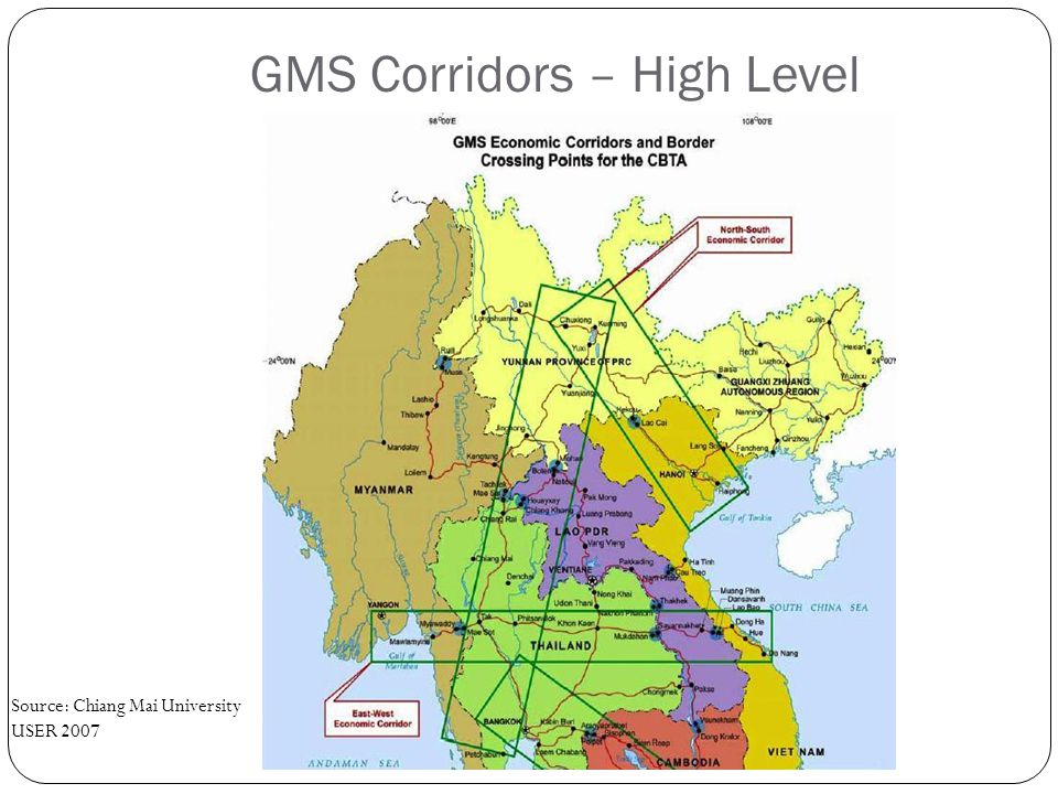GMS Corridors – High Level