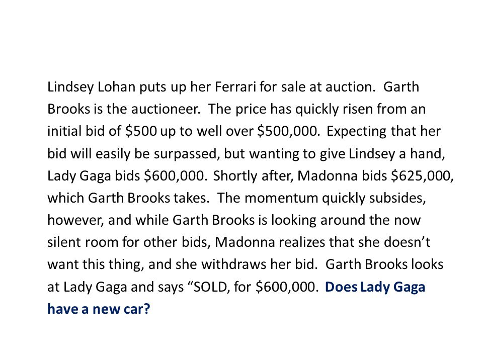 Lindsey Lohan puts up her Ferrari for sale at auction