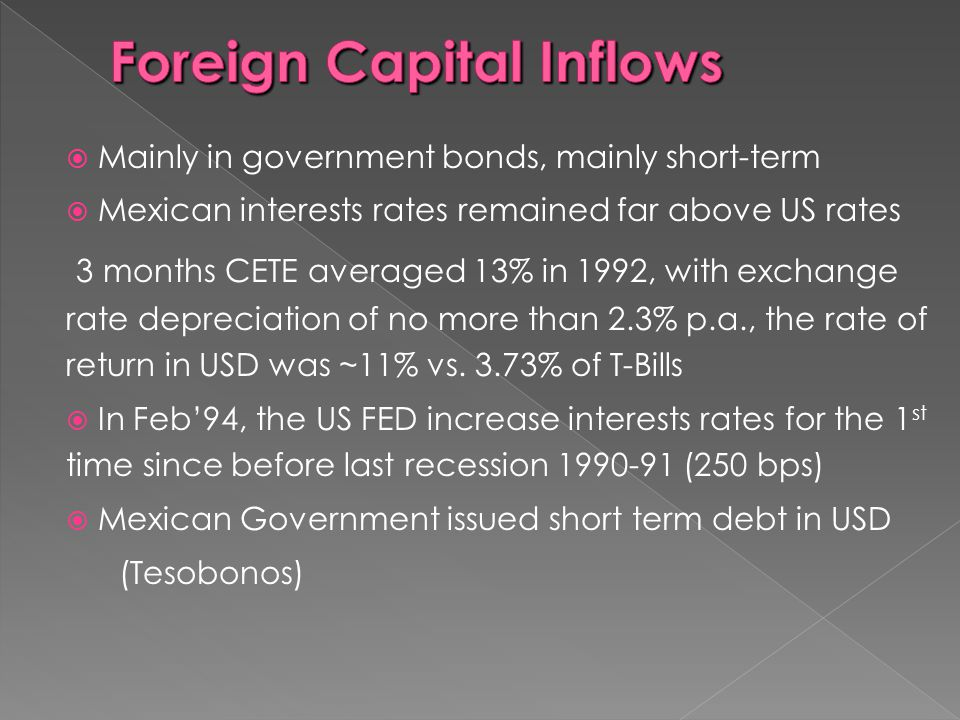 Foreign Capital Inflows