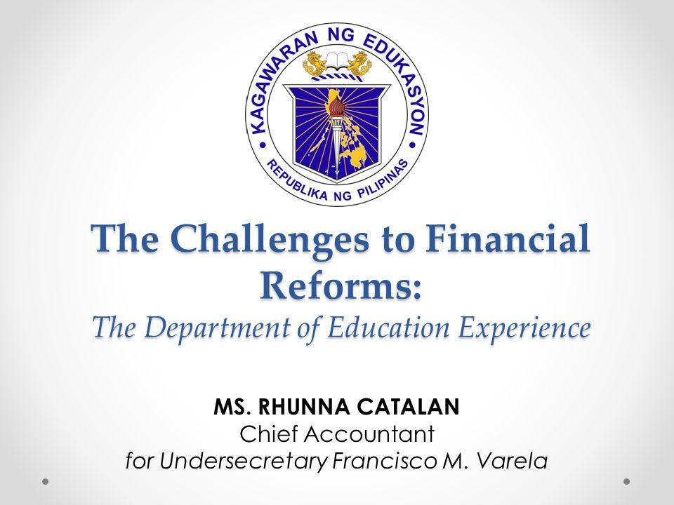 for Undersecretary Francisco M. Varela