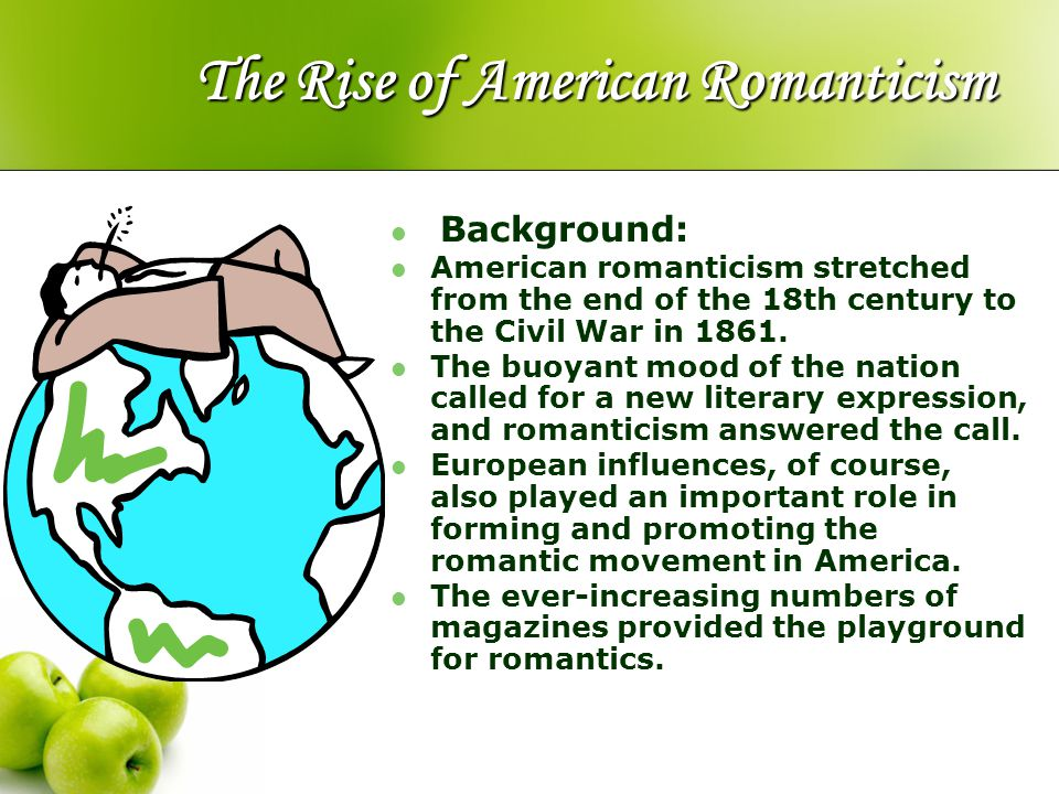 The Rise of American Romanticism