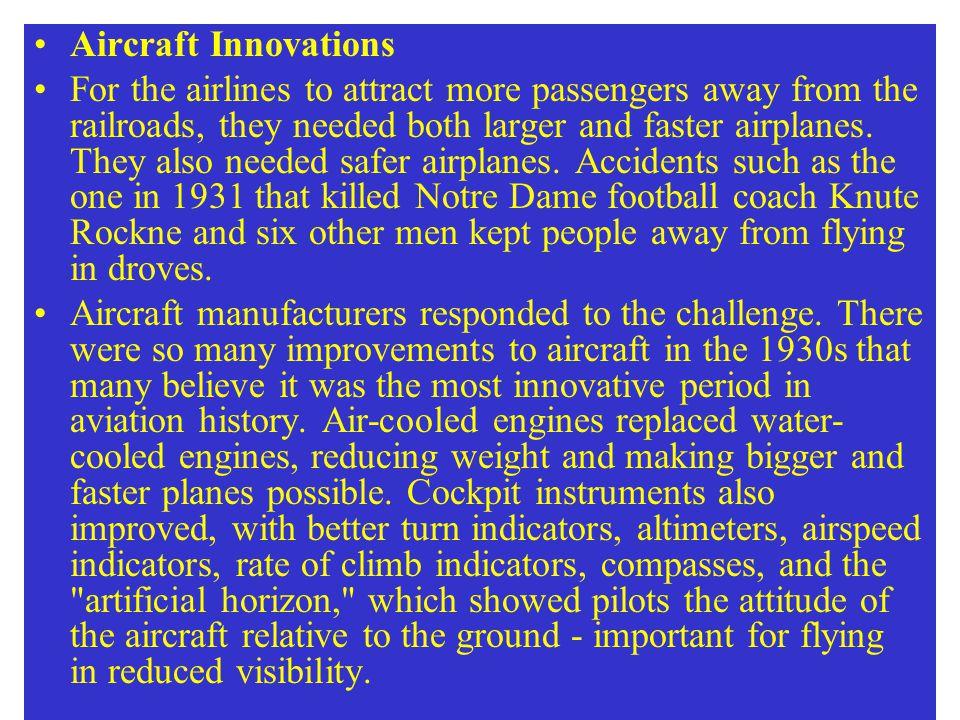 Aircraft Innovations