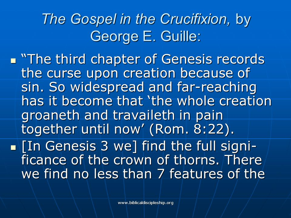 The Gospel in the Crucifixion, by George E. Guille: