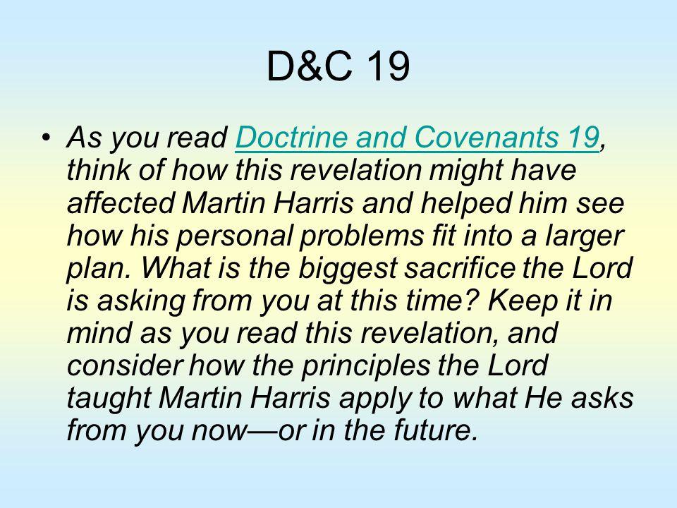 D&C 19