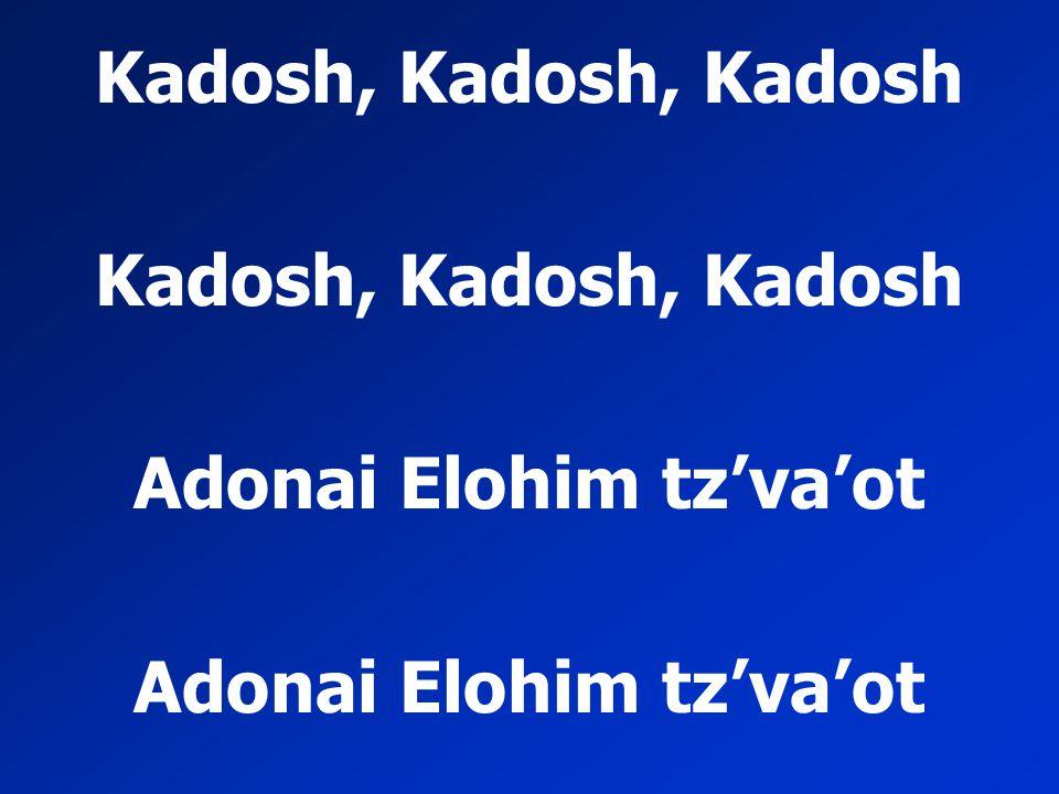 Adonai Elohim tz'va'ot