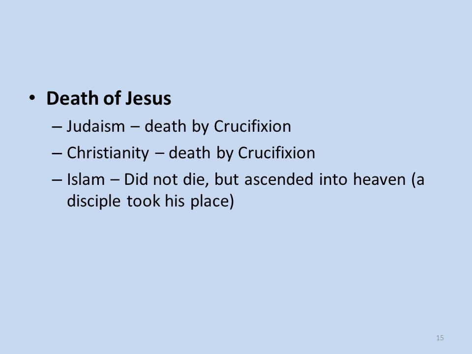Death of Jesus Judaism – death by Crucifixion