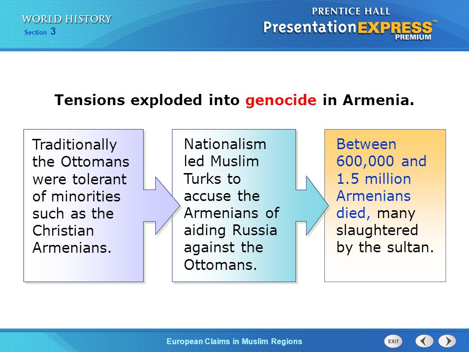 Tensions exploded into genocide in Armenia.