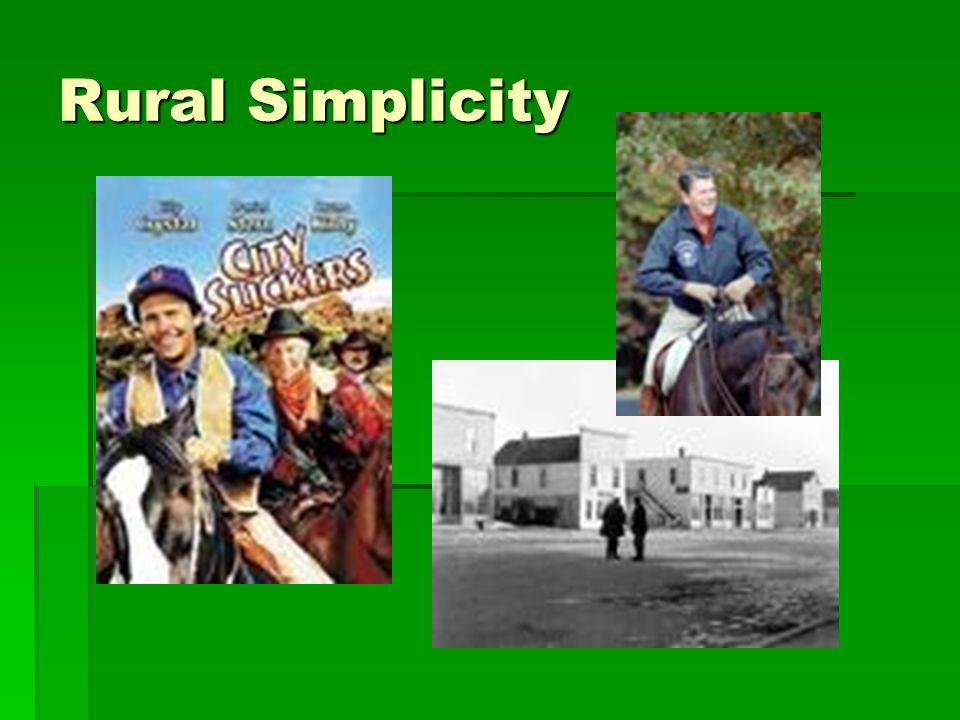 Rural Simplicity