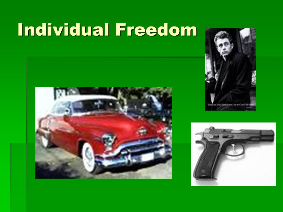 Individual Freedom