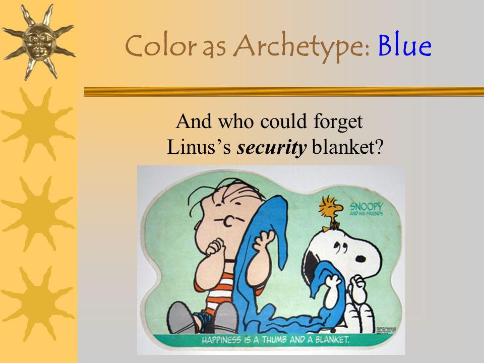Color as Archetype: Blue