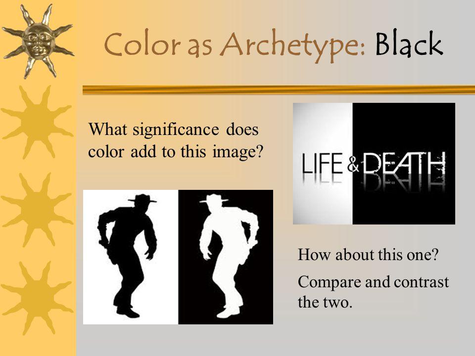 Color as Archetype: Black