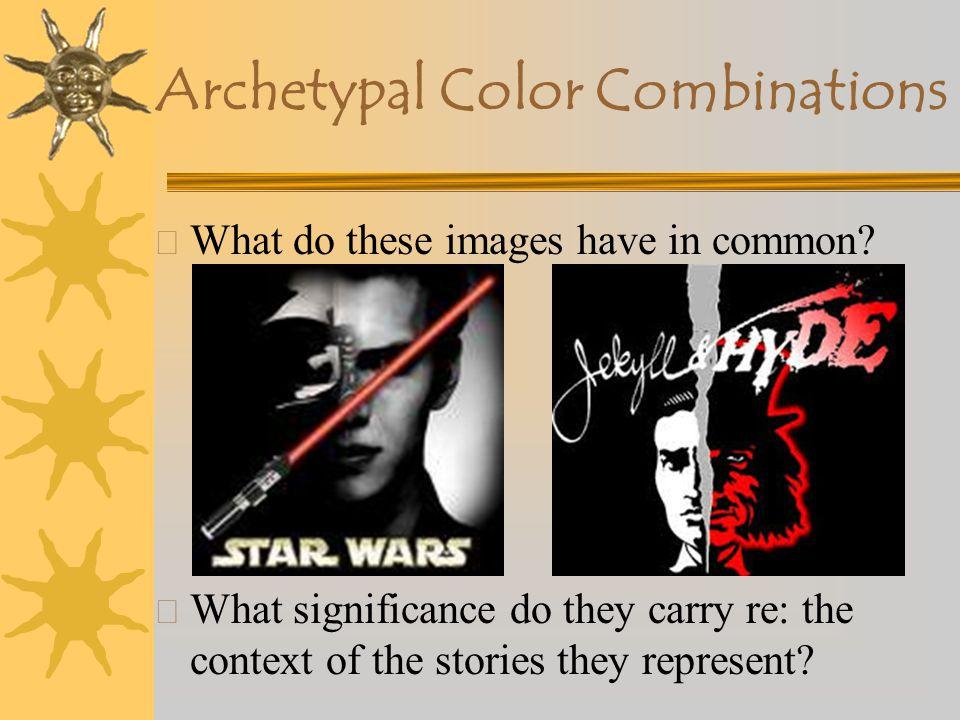 Archetypal Color Combinations