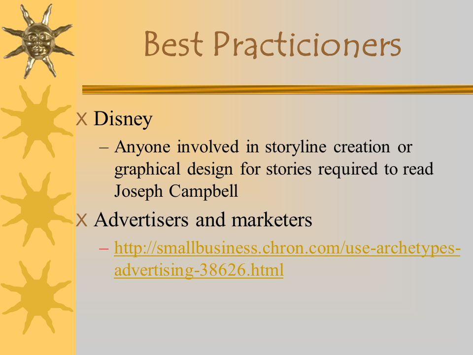 Best Practicioners Disney Advertisers and marketers