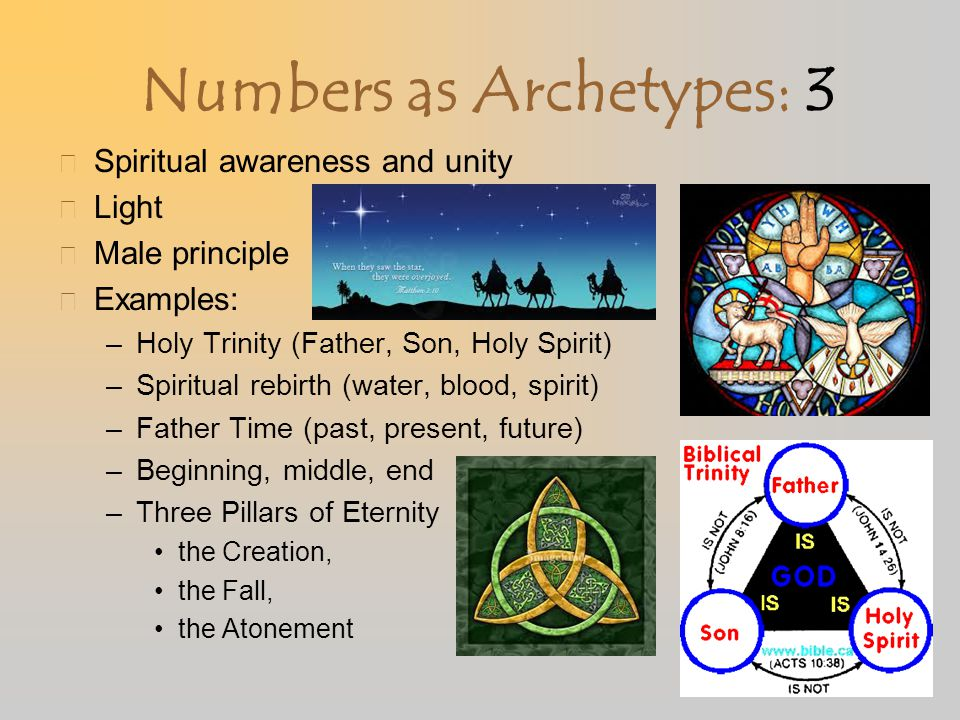 Numbers as Archetypes: 3