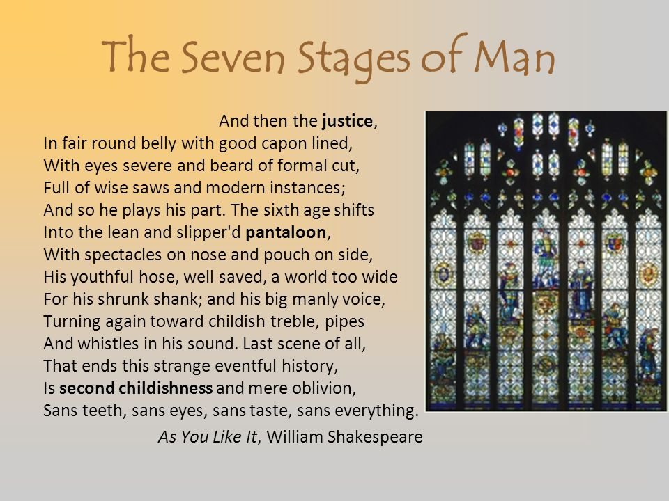 The Seven Stages of Man