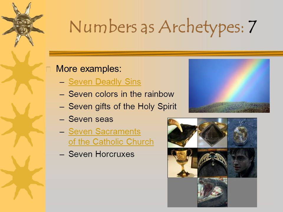 Numbers as Archetypes: 7